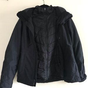 The North Face 3-in-1 jacket